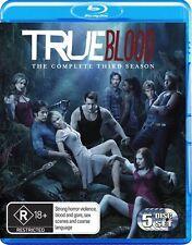 True Blood : Season 3 (Blu-ray, 2011, 5-Disc Set)