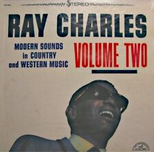 ++RAY CHARLES modern sounds in country and western music VOL 2 LP 1971 ABC VG++