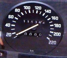 Tachimetro contachilometri BMW serie E12 - modelli 525 528