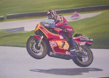 Barry Sheene SUZUKI RACING Giapponesi Moto Motocicletta Compleanno carta