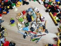 LEGO Ninjago Minifigure Mix Parts Pack (x10 Figs per order + accessories)
