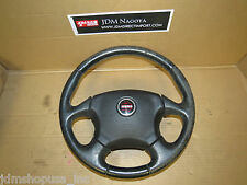 JDM 03-08 Subaru Forester SG5 SG9 STi OEM Momo Steering Wheel W/out Airbag