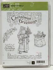 Stampin Up FATHER CHRISTMAS stamps Santa greetings Jolly Toys Holly