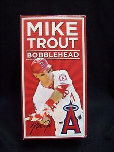 Mike Trout 2013 California Angels Baseball Bobblehead Figure.