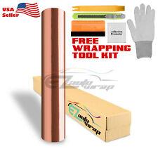 "*60""x96"" Rose Gold Copper Chrome Car Vinyl Wrap Sticker Decal Air Release"