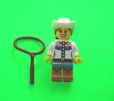 LEGO FIGUR ### COWGIRL MIT LASSO AUS SERIE 8 NEU - NEW ### =TOP!!!