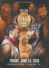 Ring of Honor - Best in the World 2016 DVD - ROH Bullet Club ACH Strong Castle
