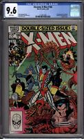 Uncanny X-Men 166 CGC Graded 9.6 NM+ Marvel Comics 1983