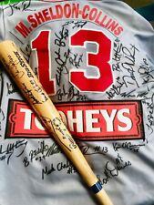 Waverley Reds Baseball Signed Jersey and Bat - Circa 1993