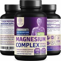 N1N Number One Nutrition Magnesium Complex Sleep, Leg Cramps, Muscle Recovery...