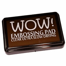 WOW! Embossing Ink Stamp Pad Clear Ultra Slow Drying
