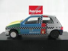 """Herpa 182690 Renault Clio """"Crash"""" Versuchsfahrzeug (1994-96) 1:87/H0 NEU/OVP/PC"""
