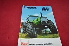 Deutz Fahr DX 4.70 6.30 6.50 7.10 Tractor Dealer's Brochure YABE15