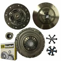 FLYWHEEL AND LUK CLUTCH KIT, BOLTS FOR VW GOLF HATCHBACK 1.9 TDI