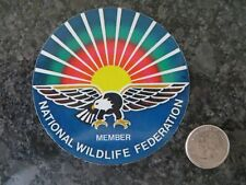 Vintage National Wildlife Federation Decal - 3 1/2 inch