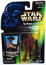 "Star Wars POTF Momaw Nadon ""Hammerhead"" with double-barrelled blaster rifle MOSC"