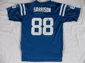 Indianapolis Colts NFL #88 Marvin Harrison Boys Jersey Large 14/16