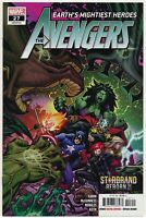Avengers #27 1st Full Brood Thor App New Black Widow Costume