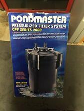 Pondmaster - Compact Pressurized Filter for 2000 Gallon Ponds