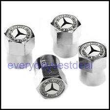 Mercedes Benz Car Wheel Tyre Valve Dust Caps Covers
