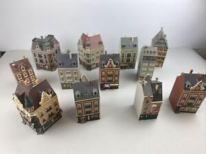 Modelleisenbahn Konvolut Gebäude Häuser Fachwerk Altbau ua Vollmer und Faller