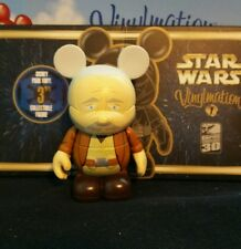"Disney Vinylmation 3"" Park Set 1 Star Wars Obi Wan Chaser with Box"