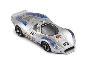 NSR 0192SW Ford P68 Allan Mann Martini Racing Silver No.92, 1:32 analog slot car