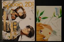 """JAPAN Spoon.2Di vol.26 """"Attack on Titan,Free! -Timeless Medley-"""" Book W/Poster"""