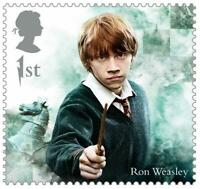 2018 Great Britain 🍁🧹 HARRY POTTER SERIES 🧹 RON WEASLEY 🧹🍁MNH Single