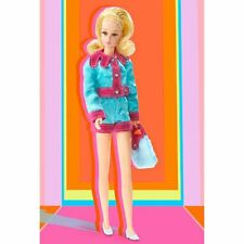 Gold label Francie Smashin Satin Barbie collector doll Reproduction MINT Shipper