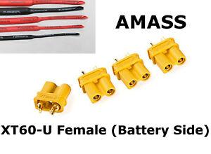 AMASS XT30U-F Female Only (Battery) IMPROVED Version -Turnigy Premium Heatshrink
