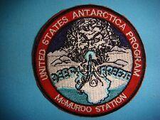 PATCH US NAVY UNITED STATES ANTARCTICA PROGRAM McMURDO STATION