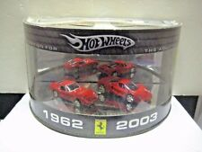 HOT WHEELS ADULT COLLECTIBLE FERRARI 2 PACK GTO & ENZO MINT IN BOX