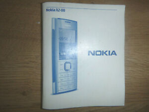 PHONE INSTRUCTIONS FOR NOKIA X2-00