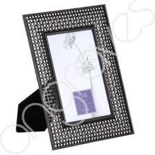 Black Crosshatch Photo Frame 4x6 Photoframe Picture Holder Home Decor
