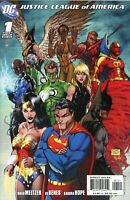 JUSTICE LEAGUE of AMERICA #1 (2nd series) DC Comics MICHAEL TURNER 1/10 Variant