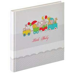 Walther Potpourri Baby Train Traditional Photo Album - 50 Sides Overall Size 12x