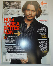 Esquire Magazine Johnny Depp & A Simple Plan To Save The World May 2004 031015R
