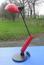 Guzzini Harvey Modernist Large Lamp Red and Black, Articulated Design