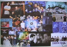 """LINKIN PARK """"COLLAGE OF MANY GROUP SHOTS"""" MUSIC POSTER FROM ASIA- Alt Rock Music"""