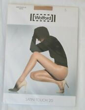 Wolford Satin Touch 20 Tights Size Small Cosmetic 18378 4273