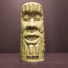 "6"" Rasta Tiki mug Chiki tiki Irie light green dreadlocks British Virgin Islands"