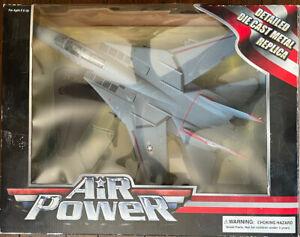 Toy Zone Air Power Detailed Die Cast Metal F-14 TOMCAT Military Replica Series