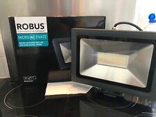Robus microactivate 50w led floodlight ip65 slim flood 4000k