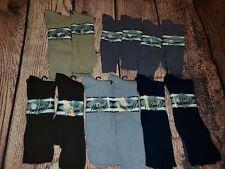 Vtg Lot 12 Men's Nylon Ribbed Dress Socks Size Medium shoes size 5.5-11.5 NEW
