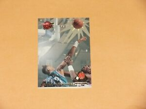 1992-93 Fleer Ultra Basketball Alonzo Mourning  Rejector Card #1 of 5