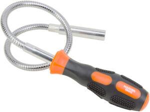 Flexible Gooseneck Magnetic Metal Pick Up Magnet Tool 5lbs Capacity