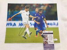 ANDREA PIRLO Signed Autographed 11x14 Photo Italy AC Milan Soccer Juve JSA COA 1