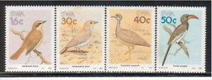 SOUTH WEST AFRICA, MNH Scott # 606-09 BIRDS