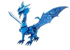 Blue Dragon Iconx Metal Earth 3D Metal Model Kit Icx114 Fascinations Collection